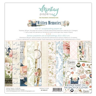 Written Memories - 12'x12'-es maxi kollekció