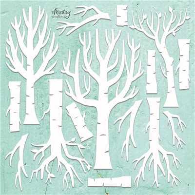 Mintay Chippies - Decor -Trees - 14 db