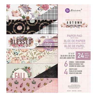 Hello Pink Autum 12x12-es fóliás giga kollekció