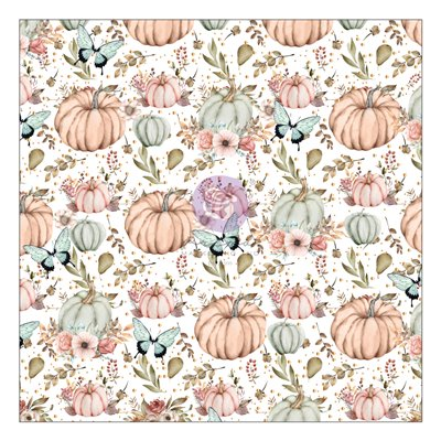 """Hello Pink Autumn kollekció - Fóliás pausz 12"""" x 12"""""""