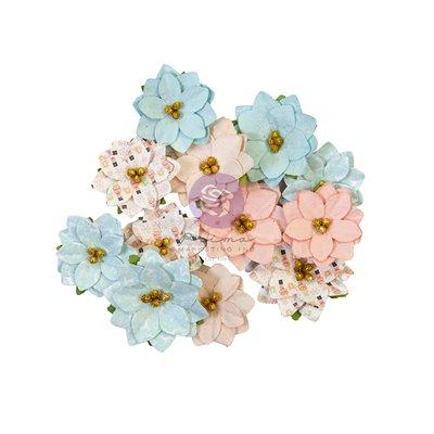 Prima Flowers® Christmas Sparkle kollekció - Peppermint Sweet - 24db