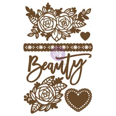 Prima Chipboard - Beauty Arises (6db)
