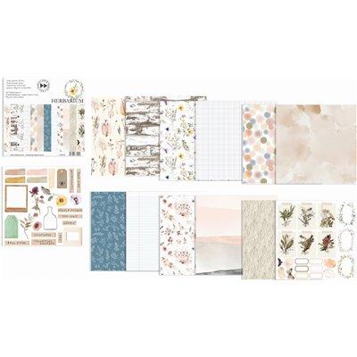 """Herbarium - 6""""-es papírkészlet"""
