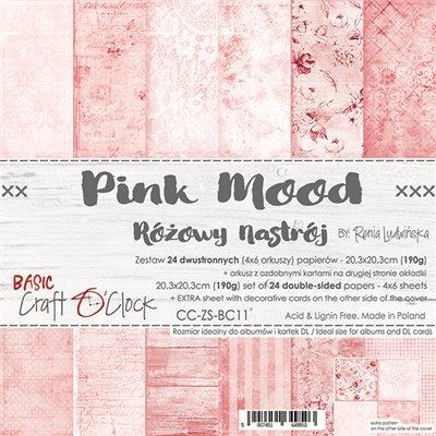 Pink Mood - Basic set - papírkészlet 20,3 x 20,3 cm