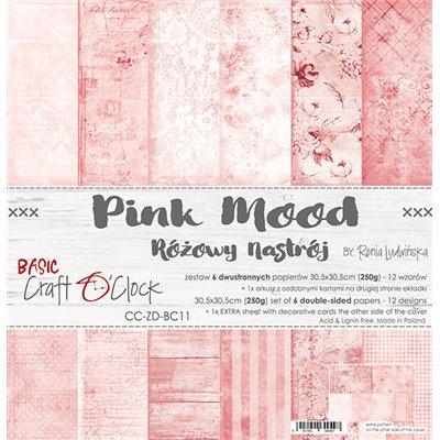 Pink Mood - Basic set - papírkészlet 30,5x30,5cm