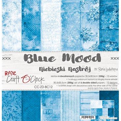 Blue Mood - Basic set - papírkészlet 30,5x30,5cm