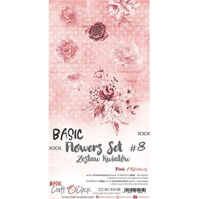 Flowers extra szett des.8