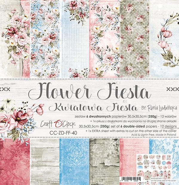 Flower Fiesta - papírkészlet 30,5x30,5cm