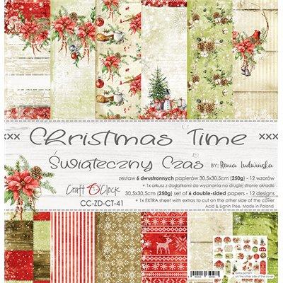 Christmas Time - papírkészlet 30,5x30,5cm