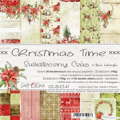 Christmas Time - papírkészlet 20,3 x 20,3 cm