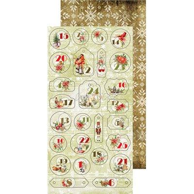 Christmas Time - Junk Journal kivágóív szett