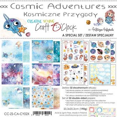 Cosmic Adventure - special szett papírkészlet 20,3x20,3 cm