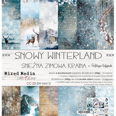 Snowy Winterland - papírkészlet 30,5x30,5cm
