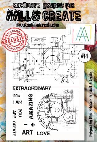 AALL and Create bélyegző szett no.14