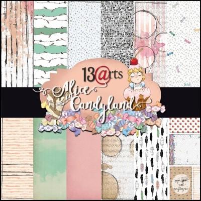 Alice in Candyland kollekció - 12x12