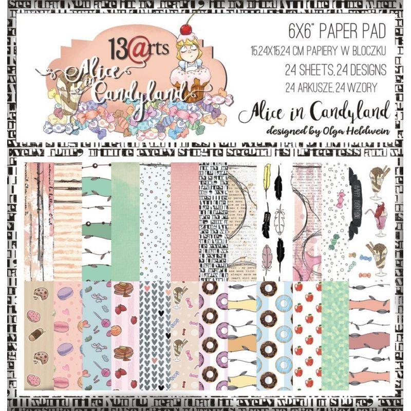 Alice in Candyland kollekció - 6x6