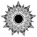 Mandala stencil -  Alice - by Olga Heldwein