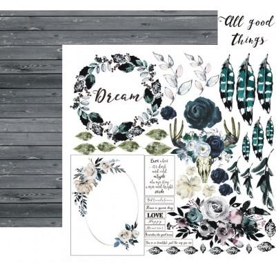 All Good Things papír - 12x12