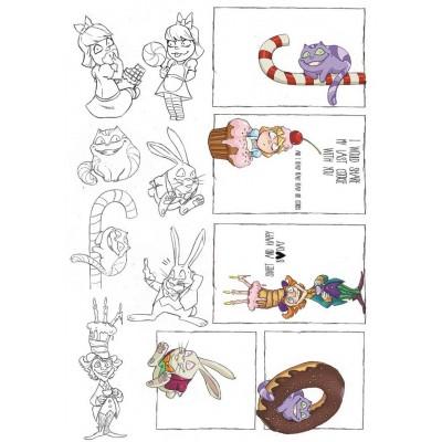 Alice in Candyland kivágóív