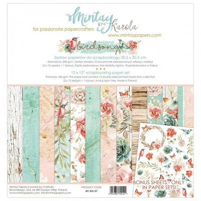 Mintay Birdsong maxi kollekció - 12x12