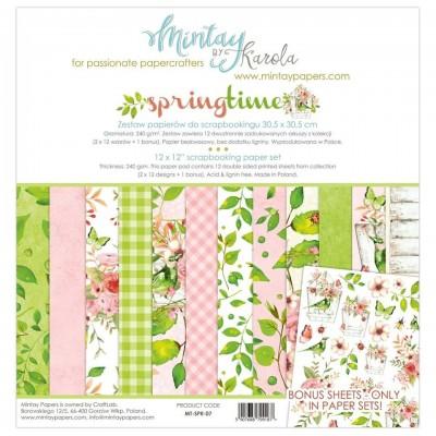Mintay Springtime maxi kollekció - 12x12