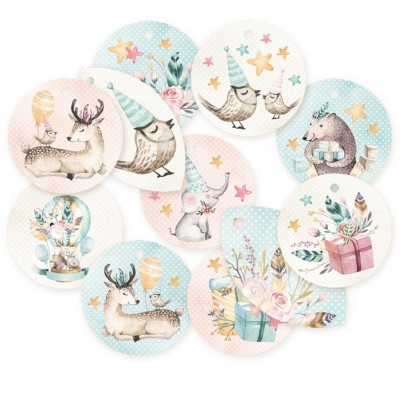 Cute and Co. dekorációs címke 01