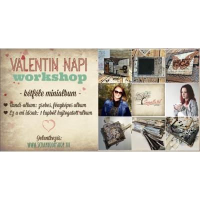 Online workshop és alkotócsomag  Valentin nap