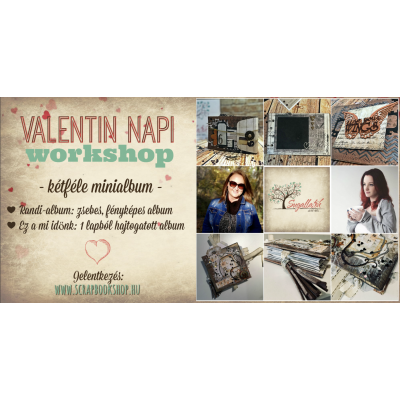 Online workshop - Valentin-nap