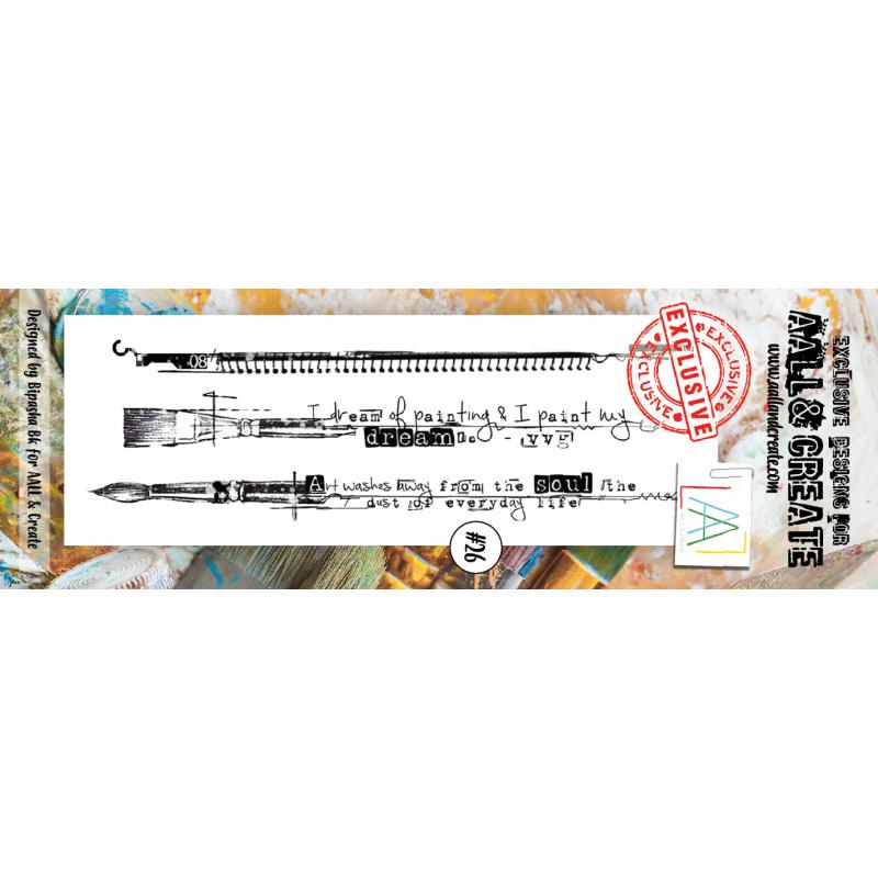 AALL and Create bélyegző szett no.26