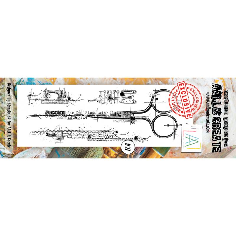 AALL and Create bélyegző szett no.27