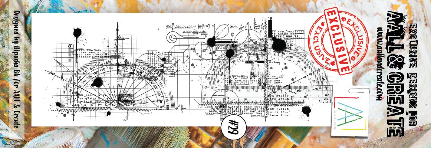 AALL and Create bélyegző szett no.29