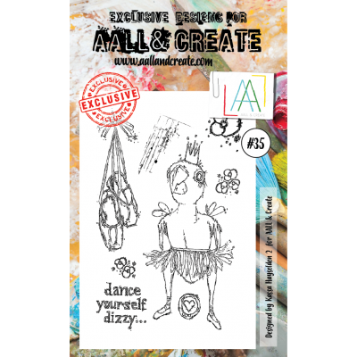 AALL and Create bélyegző szett no.35