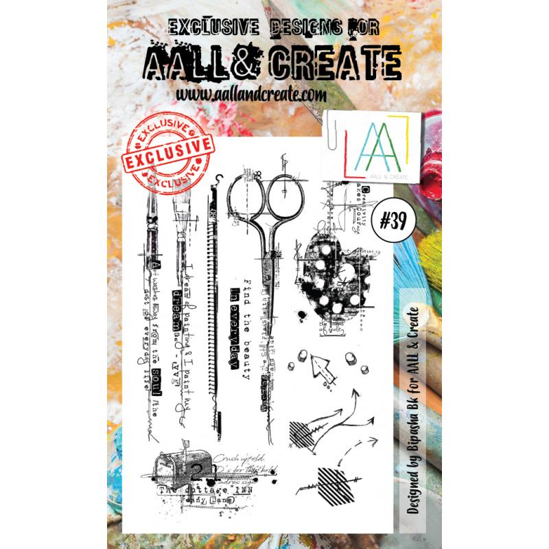AALL and Create bélyegző szett no.39