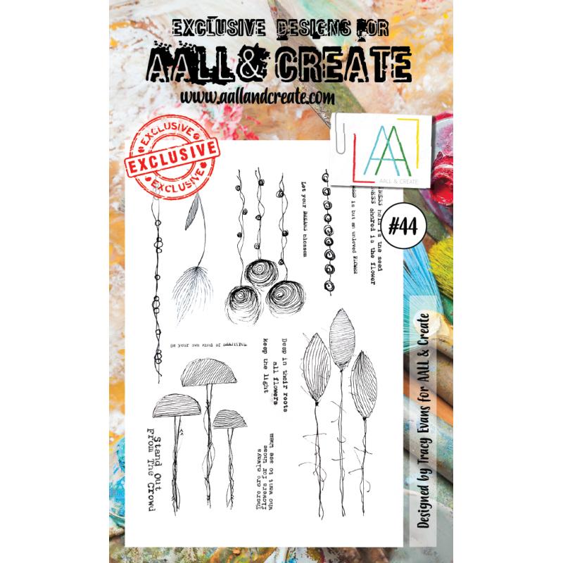 AALL and Create bélyegző szett no.44