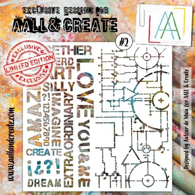AALL and Create stencil no.2