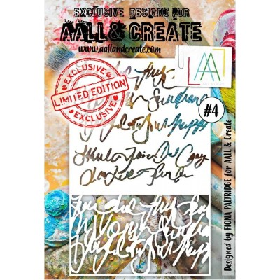 AALL and Create stencil no.4