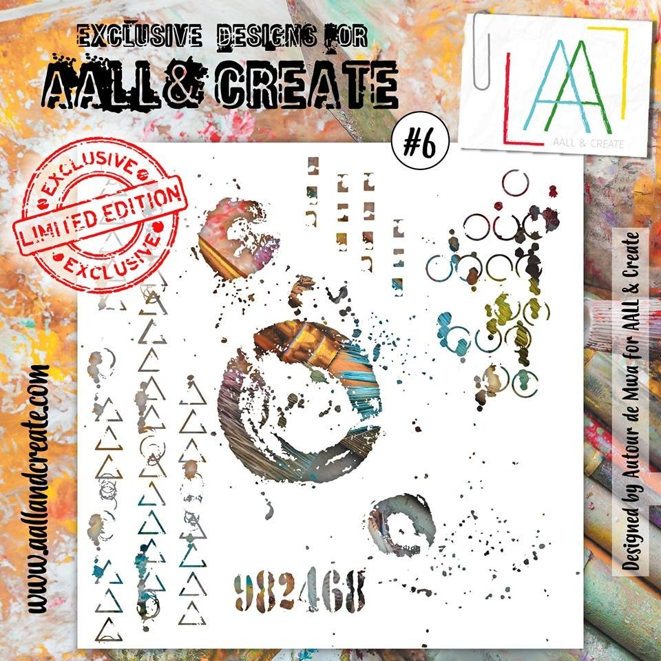 AALL and Create stencil no.6