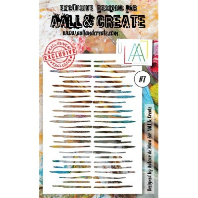 AALL and Create stencil no.7