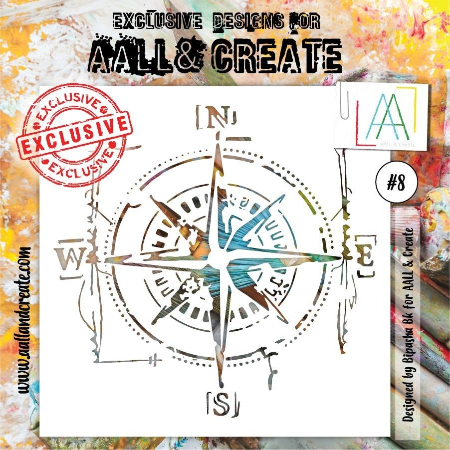 AALL and Create stencil no.8