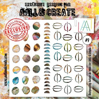 AALL and Create stencil no.9