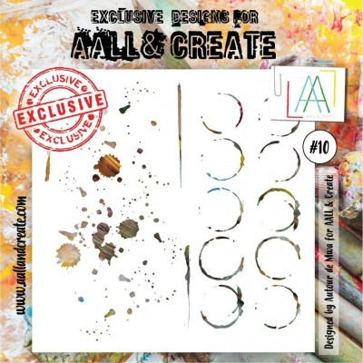 AALL and Create stencil no.10