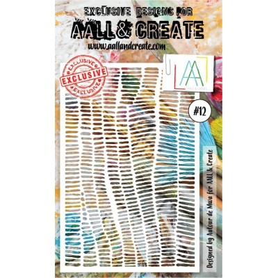 AALL and Create stencil no.12