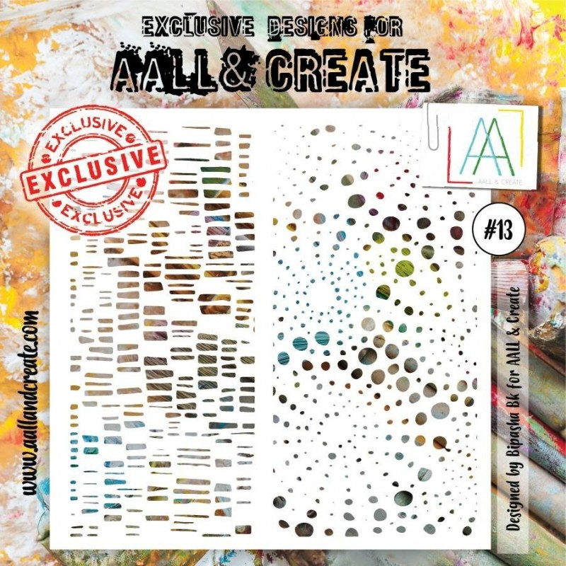 AALL and Create stencil no.13