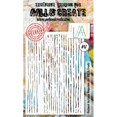 AALL and Create stencil no.17