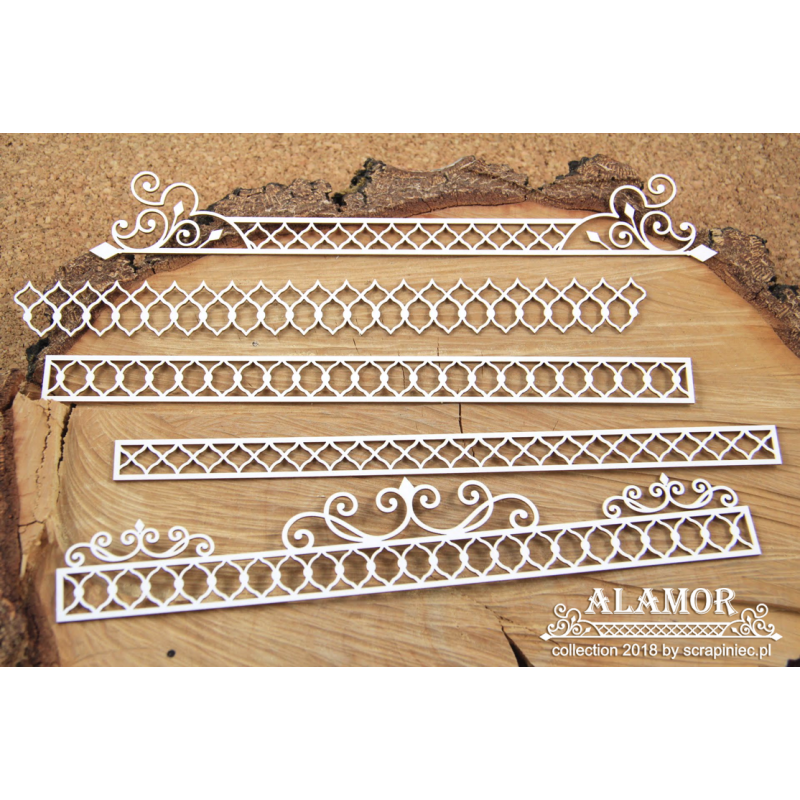 Alamor bordűrök XL