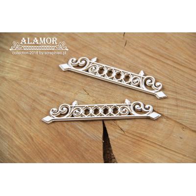 Alamor - két rétegű bordűr