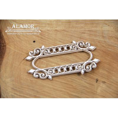 Alamor - két rétegű jelzőtábla des.1