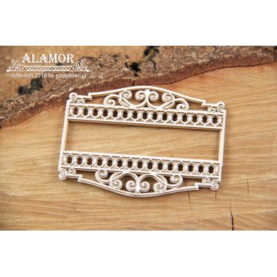 Alamor - két rétegű jelzőtábla des.2