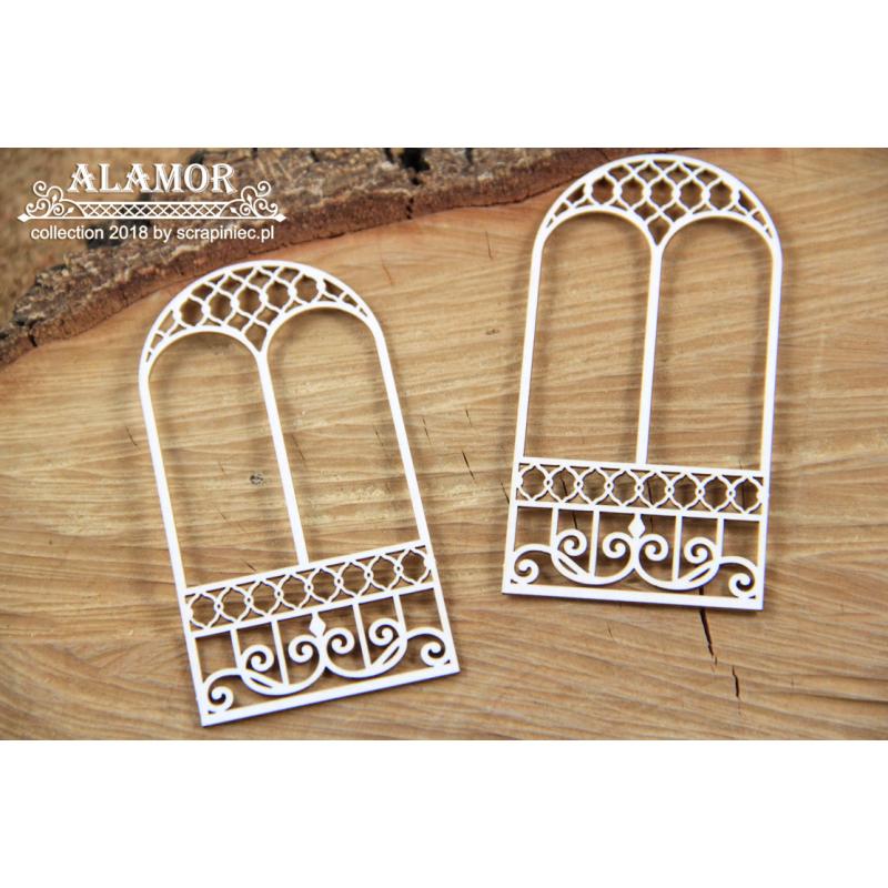 Alamor - két ablak