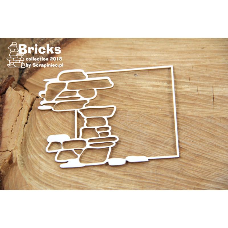Bricks - négyzetes keret